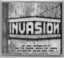 CD RAP FRANCAIS / INVASION (NEUF SOUS CELLO) LIM , SALIF PSY 4 , MENACE RECORDS