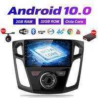 Acht-Kern für Ford Focus 2012-2017 ANDROID 10.0 AUTORADIO GPS NAVI 32GB ROM DAB+
