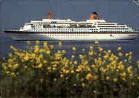Schiffsfoto-AK Schiff MS EUROPA Karibik Kreuzfahrt Schiffspost Paquebot ab MIAMI