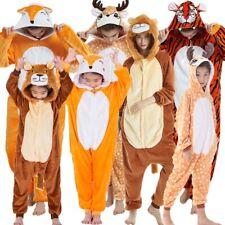 NEW Unisex Adult Kids Sleepwear Onesie11 Animal Pajamas Kigurumi Cosplay Costume