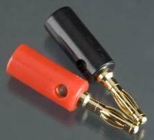 Integy Euro Banana Plug (Male=2pcs) 2596