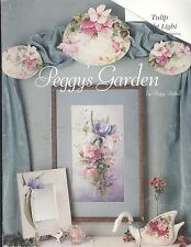 Peggy's Garden Tole Decorative Painting Book Peggy Nuttall Swag Set Nightlight