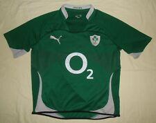 Ireland (IRFU) / 2010-2011 Home - PUMA - MENS rugby Shirt / Jersey. Size: XL