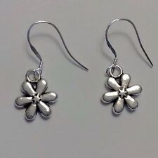 Unique Peaceful Tibet/Sterling Silver Daisy Flower Dangle Earring Gift Womens