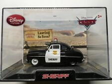 DISNEY CARS SHERIFF IN COLLECTORS CASE 1:43 SCALE DIECAST