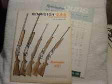 Remington 1967 price lists retail and dealer