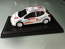 1/43 PEUGEOT 207 RC N°58 Rally WRC MONTE CARLO 2014 MONTECARLO