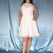 Tüllkleid mit Rüschen Spitze* S  COCKTAILKLEID* Abendkleid* Etuikleid* Minikleid