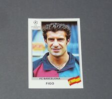 48 LUIS FIGO PORTUGAL FC BARCELONA PANINI FOOTBALL CHAMPIONS LEAGUE 1999-2000