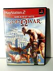 God of War Greatest Hits Sony PS2 PlayStation 2 2005 CIB Complete w/ Manual