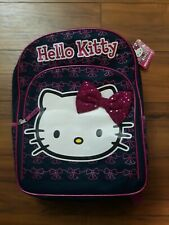 """Sanrio Hello Kitty 16"""" Large Backpack. Authentic Brand New."""