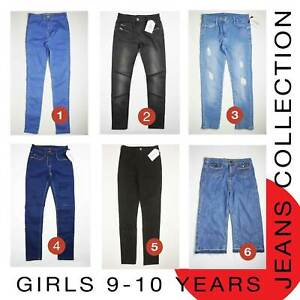 Girls Jeans 9-10 Years Brand New MORE THAN 70% OFF (L52)