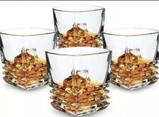 Kanars Set Of 4 Whiskey Glasses WG08 Ultra Clarity Crystal Lead Free Open Box