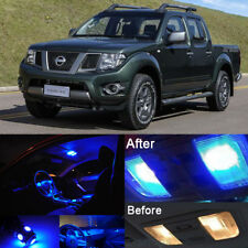 Blue LED Lights Interior Bulbs Package Kit for Nissan Frontier 2005-2015 (6Pcs)