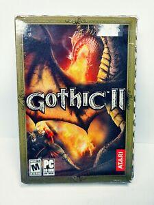 Gothic II: Gold Edition (PC, 2005) 3 Discs in Original Box