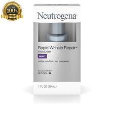 New Neutrogena Rapid Wrinkle Repair Night Moisturize Retinol Anti Aging Pigmant