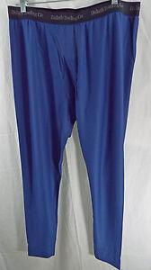 Men's Duluth Buck Naked Performance Base Layer Pants 38739 Dark Cobalt Blue