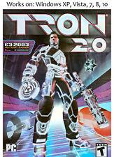 Tron 2.0 PC Game Windows XP Vista 7 8 10