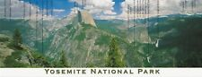 Yosemite National Park ~ Half Dome Glacier Point  ~ Modern Post Card 4x10 ~ New