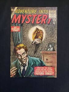 ADVENTURE INTO MYSTERY (VG/FN) ISSUE #1, FUTURE...TENSE! 1956