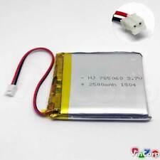 1x Lipo Akku 1s 3,7V 2500mAh JST PH Stecker PCB 785060 Babyphone Video Headset