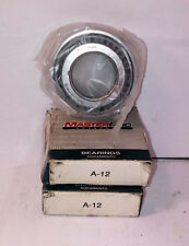 2 NEW MASTER PRO A-12 WHEEL BEARINGS NIB !!FREE CD!! ***MAKE OFFER***