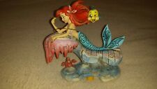 "New Listing ""Dreaming Under the Sea"" Little Mermaid - Jim Shore Disney Traditions - 6.25"""