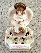MONTEFIORI Collection Light Up Angel Wings Figurine Excellent Condition