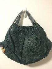 NWT Marc By Marc Jacobs Dreamy Green Embossed Shoulder Bag