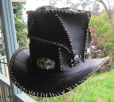 HARD ROCK / HEAVY METAL / ROSES AND GUNS ROCK GOTHIC TOP HAT W. RANDOM STITCHING