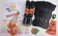 Buy gold christmas crackers ebay halloween cracker kits x10 large 14 35cm make your own crackers solutioingenieria Gallery