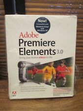 Adobe Premier Elements 3.0 Brings Home Videos to LIfe (NEW)