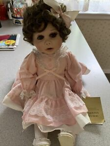 georgetown collection porcelain dolls -sitting