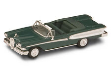 1/43 YAT MING 94222 - 1958 EDSEL CITATION DARK GREEN, DIE-CAST, NEW