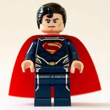 LEGO Superman minifigure in dark blue suit - 76002, 76003, 76009 (NEW) SUH077
