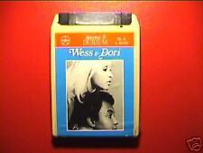 "WESS & DORI GHEZZI ""Wess&Dori"" cassetta STEREO8 SIGILL"