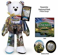Yosemite National Park Coin bear #3 in current Series of 16
