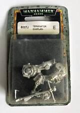Warhammer 40k Terminator Chaplain 8007J Metal OOP Sealed Citadel Games Workshop