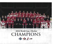 2004 World Cup Canada Champions ~ Gretzky ~ Team Posed  8 x 10 Photo
