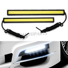 2pcs White 100 LED Daytime Running Light Car Fog Driving Lamp Daylight Universal