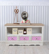 TV Wardrobe Country Style TV Cabinet TV Table Vintage Lowboard Hifi Table