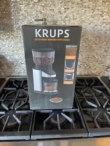 Krups Auto-Dose Coffee Grinder With Scale