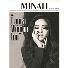 GIRL'S DAY MINAH-[I AM A WOMAN TOO] 1st Mini Album CD+Photo Book+Card K-POP
