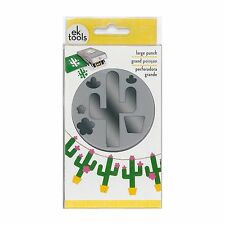 EK Tools Paper Punch, Large, Cactus 54-30298 NEW