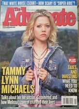 The Advocate Magazine March 29, 2005 Tammy Lynn Michaels cover VG