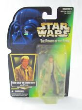 Star Wars Potf Han Solo In Endor Gear With Blaster Pistol Kenner