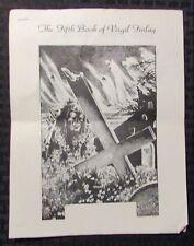 1979 THE FIFTH BOOK OF VIRGIL FINLAY Gerry de la Ree 8pg Mailer VG 4.0