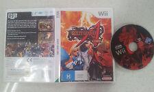 Guilty Gear Core XX Nintendo Wii PAL Version