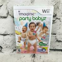 Imagine Party Babyz Nintendo Wii Video Game Rated E For Everyone