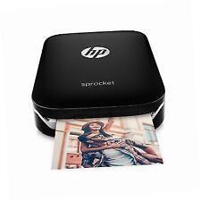 HP X7N08 512MB Wireless Sprocket Photo Color Printer - Black